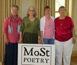 Carnegie August 2015 readers Karen Mitchell, Gillian Wegener, Jennifer Lagier, and nancee kinkaid maya