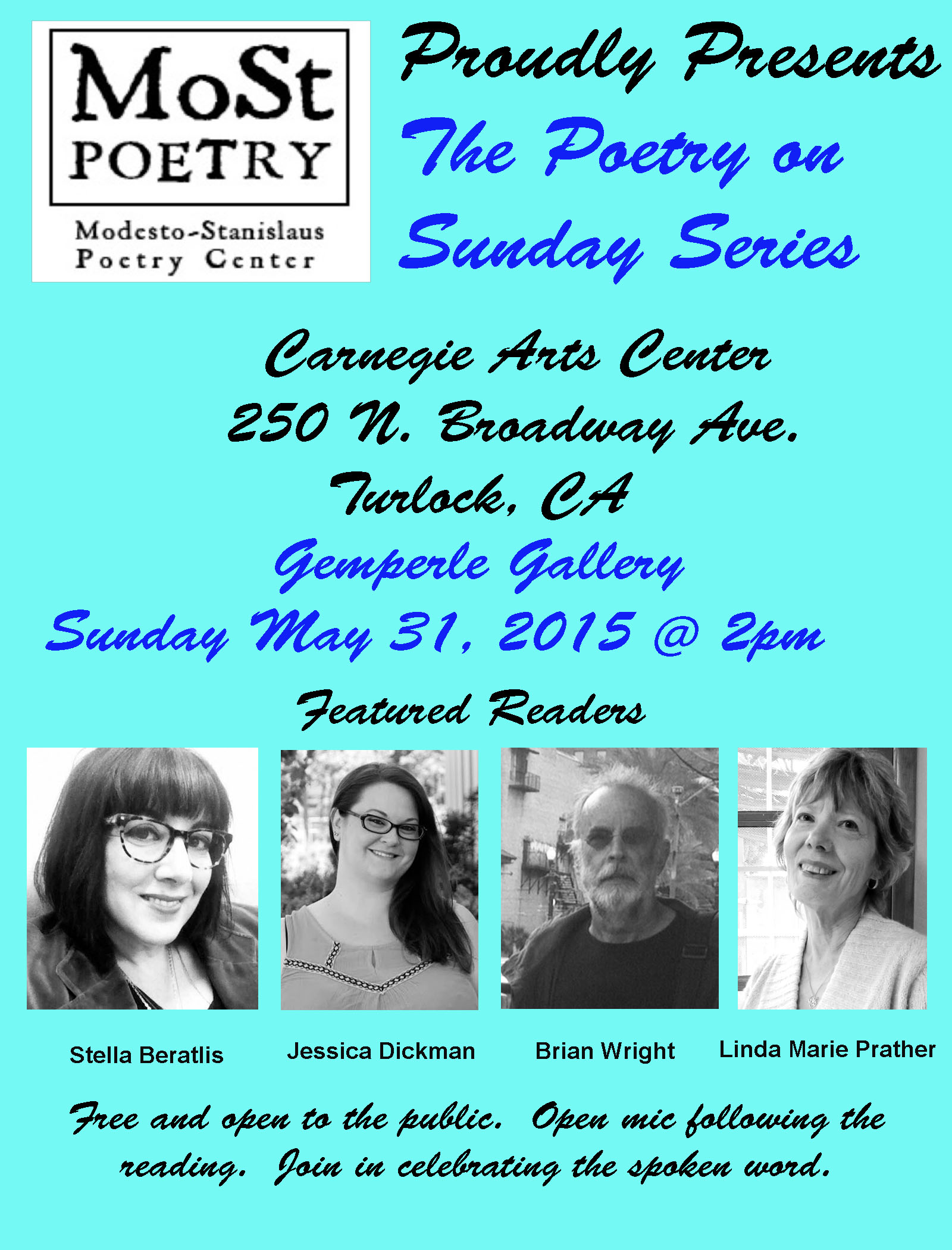 Poetry on sunday series carnegie modesto stanislaus for Poetry chapbook template