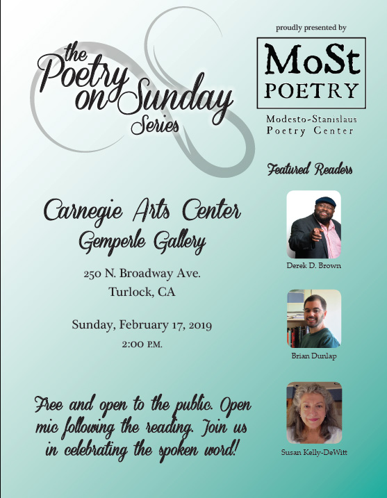 Poetry on Sunday Series – Modesto-Stanislaus Poetry Center